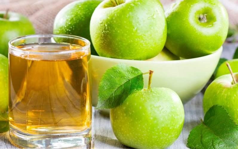 Výsledok vyhľadávania obrázkov pre dopyt prírodná jablkova štava na travenie